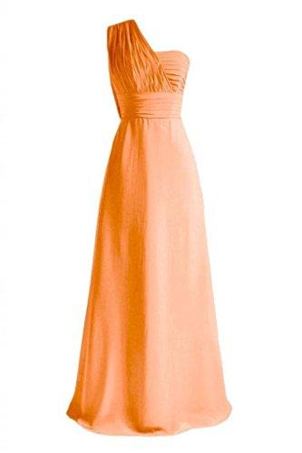 Volant Partito Del D'epoca Donne 22 Vestito Daisyformals Lungo Sera Abito bm452l W Del arancio Da wxBtPF