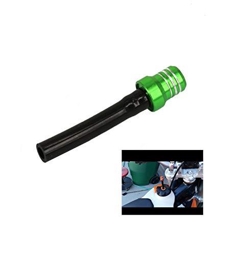 Billet Gas Fuel Cap Oil Filler Cap Air Vent Hose Tube Breather Hose For Yamaha YZ125 YZ250 YZF250 YZ