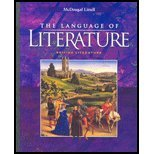 The Language of Literature British Literature California Edition, , 0618276599