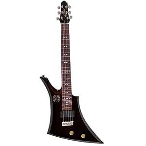 vorson ljk300 bk upright lap steel guitar with bag black musical instruments. Black Bedroom Furniture Sets. Home Design Ideas