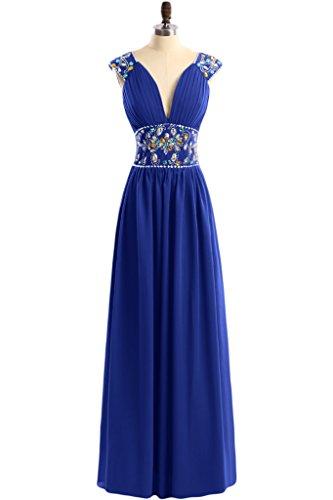 TOSKANA BRAUT - Vestido - trapecio - para mujer Azul - Royal Blue