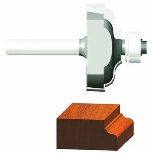 Vermont American 23148 1/4-Inch Radius Carbide Tipped Ogee with Fillet Router Bit, 1/2-Inch Ball Bearing 1/4-Inch Shank from Vermont American