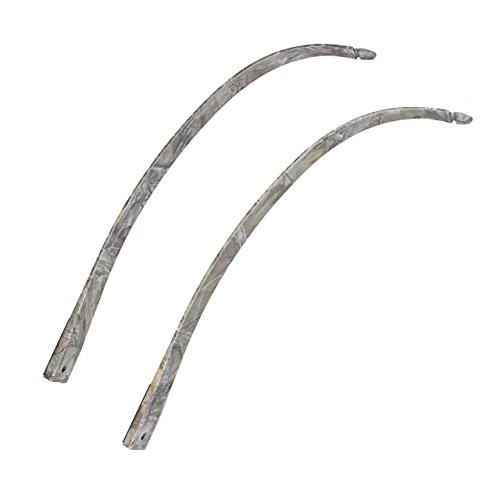 Recurve Bow Limbs - SinoArt FalconTakedown Recurve Bow Limbs Only 30 35 40 45 50 55 60 65 70 LBs (Camo, 45 LBs)