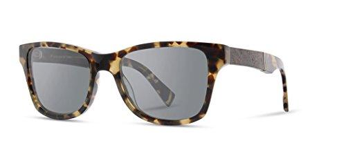 Shwood - Canby Square Acetate & Wood Sunglasses - Havana // Elm ()