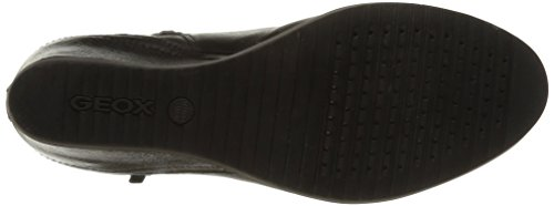Geox D Illusion B - Zapatillas Altas Mujer negro