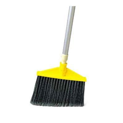 Smooth Sweep Angle (Rubbermaid FG638906BLA Smooth Sweep Angle Broom - Metal/Poly Black)