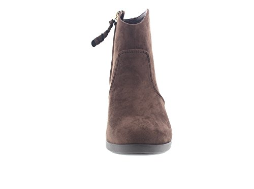 CROCS Femme - Leigh Synth Suede Wedge Bootie espresso, Taille:40 EU