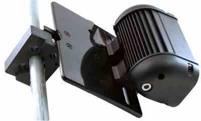 Larson Electronics BC-2-SML-BLK Rail Mount for LED Emitter Bars &Vehicle Mount Halogen & Hid Lights (Bar Clamp) (Black) Led Light Emitter Bar