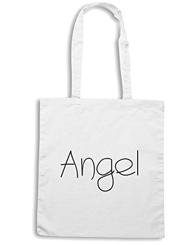 Borsa Shirt ANGEL TDM00025 Speed Shopper Bianca PUqqA