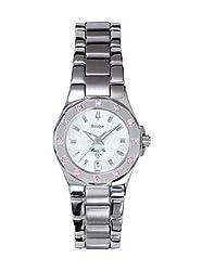 Bulova Women's 96R25 Pink Sapphire Watch