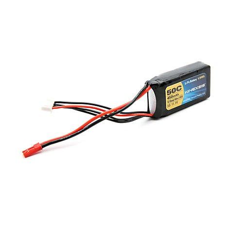 Kinexsis 11.1V 450mAh 3S 50C LiPo 18AWG JST Battery (450 Mah 3s Lipo Battery compare prices)