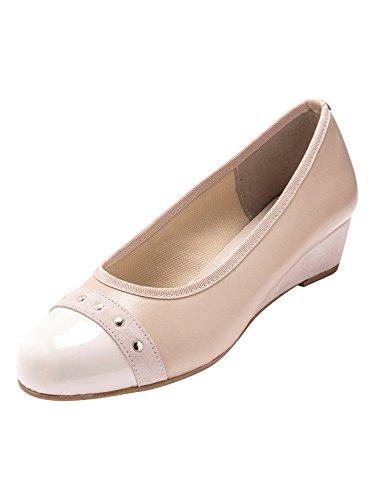 Vestir Zapatos Pediconfort De Beige Mujer Ezwaqwv