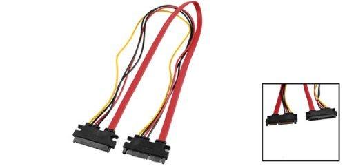 Amazon.com: eDealMax 7 + 15 SATA Macho a hembra de Disco Duro convertidor de energía del Cable Para PC: Electronics