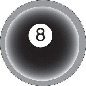Button 8 Balls Eight Ball