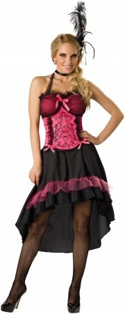 Saloon Girl Adult Costume - Large -
