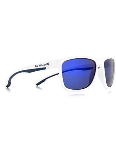 6461c79142 Red Bull Spect Matt White-Blue-Smoke With Purple Revo Twist Polarized  Sunglasses (