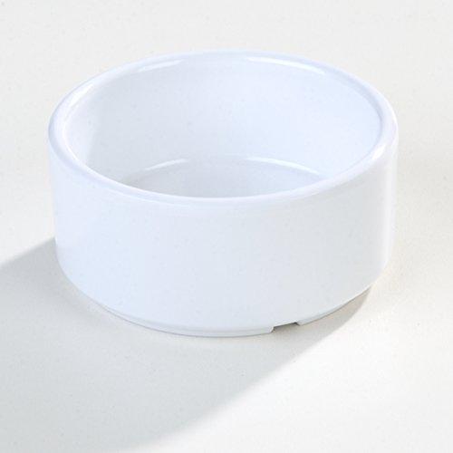 Carlisle 41402 White Melamine Straight-Sided Ramekin (Case of 48) by Carlisle (Image #7)'