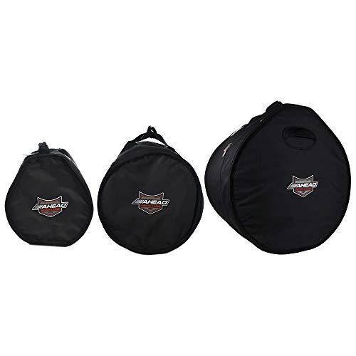 Ahead Armor 12x8/14x14/20x14 Drum Bag/Case (3 Pack Bundle) (Rack Case Tom)