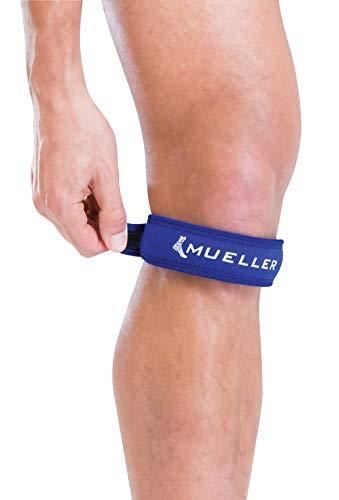 Mueller Jumper's Knee Strap, Blue, One Size Fits Most | Single Strap Knee Brace