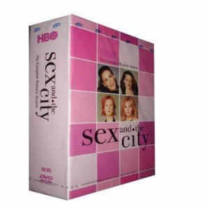 Sex and the city dvd boxset