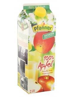 Pfanner 100% apple South Tyrol Naturtrüb 2 l