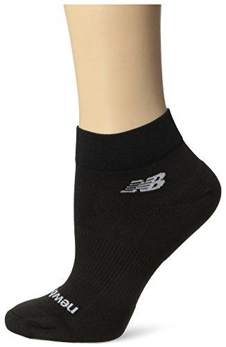 Lightning Dry Quarter Sock - New Balance Unisex 1 Pack NBX Olefin Quarter Socks,Medium,Black