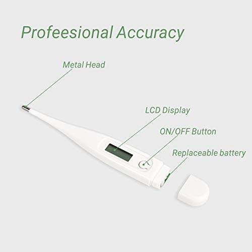 Digital LCD Bébé Adulte bouche Body Thermomètre Medical Medical Oral UK FREE POST