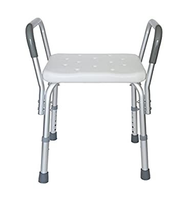 MedMobile® Heavy Duty Bath Bench with Removable Armrests