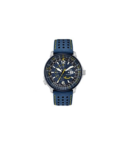 - Men's Citizen Eco-Drive Blue Angels Promaster Nighthawk Strap Watch BJ7007-02L