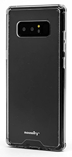 - Galaxy Note 8 Case, Maxessory [Solar] Crystal Clear Drop-Proof Protective Ultra-Thin Transparent Hard Rigid Shell Cover w/Shockproof Protector Armor Clear Clear For Samsung Galaxy Note 8