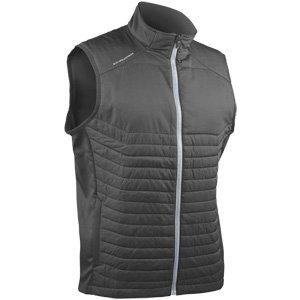 Sun Mountain 2018 Men's Hybrid Golf Vest (Steel Large)