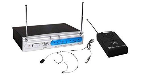 Peavey PV-1 V1 Handheld 198.950MHz Wireless Microphone System (Peavey Wireless Mic)