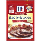McCormick Bag 'n Season Pot Roast Cooking Bag & Seasoning Mix, 0.81 oz (Case of 6)