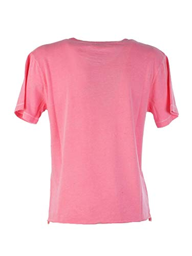 Femme 548037ybdv26469 shirt T Saint Laurent Rose Coton HE5znwq