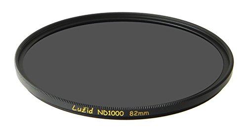 LUŽID 82mm ND1000 MC Filter Schott B270 Glass Brass Frame ND 3.0 Multi-Coated 82 Luzid