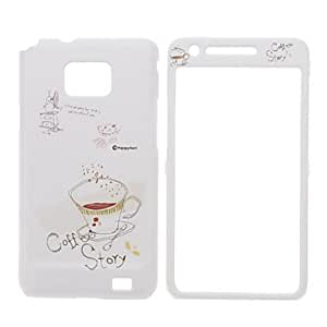 Coffee Story Design Front and Back Full Body Case for Samsung Galaxy S2 I9100