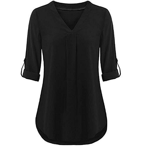 Closhion Closhion Negro Closhion Negro Mujer Camisas Camisas Mujer Para Closhion Para Negro Camisas Camisas Mujer Para IHqnCRwdgx