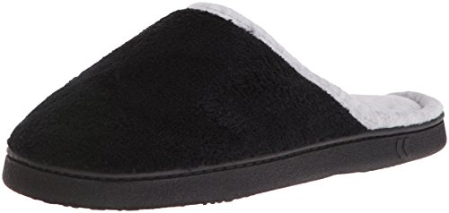 noir Size pour One Noir noir Chaussons femme Isotoner nT6YxIU5