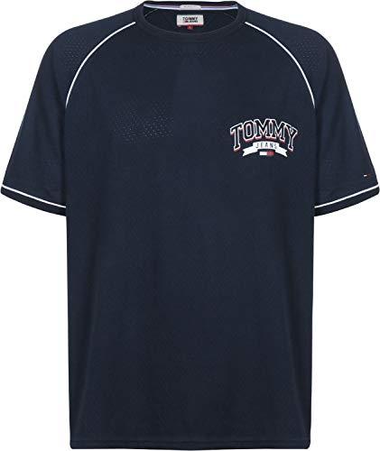 T Baseball Bleu Mesh shirt Tommy Jeans wv7Ftt