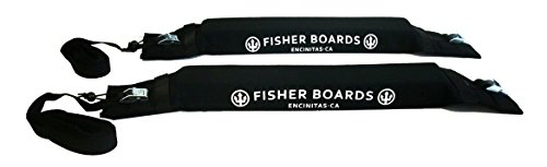 Fisher Boards Surfboard Paddle Board Soft Rack System by Fisher Scientific