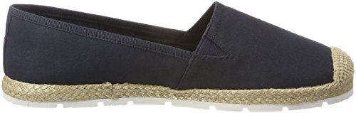 Flat Espadrille Sporty Hilfiger 403 Basic Blue Women''s midnight Tommy wPZCqgx
