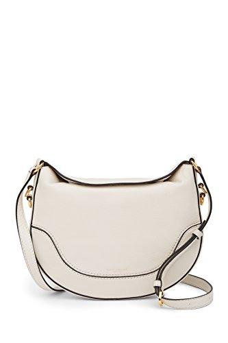 fter medium Leather Crossbody Bag (Vintage White) ()