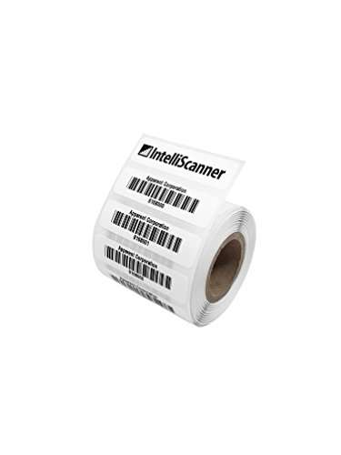 IntelliScanner Asset Tags (Roll of 500 - Customized) (Best Bar Inventory System)