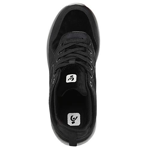 nero cm tacco 36 con da nabuk in 6 interne Sneakers f7wO0q8xn