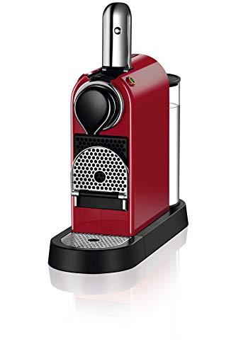 NESPRESSO KRUPS Citiz XN741540 Pod Coffee Machine-Red ...
