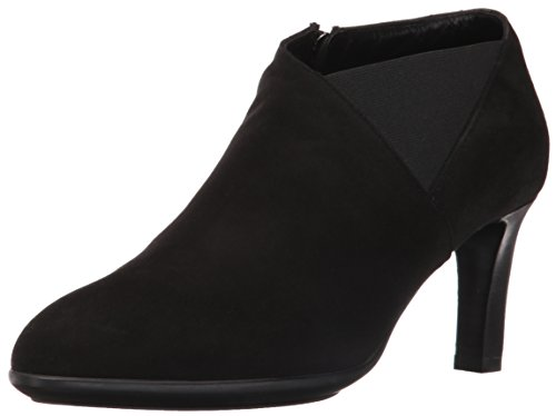Aquatalia Women's Dollie Suede Ankle Bootie, Black, 9 M (Dolly Ankle Boot)