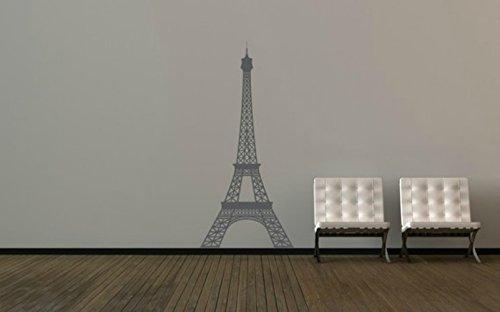 Amazon.com: Eiffel Tower Decal, Eiffel Tower Decor, Paris Wall Decal ...