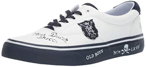 Polo Ralph Lauren Men's Thorton III Sneaker, Newport Navy, 12 D US