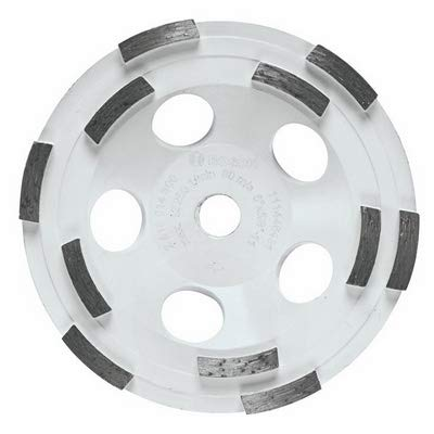 Bosch DC510H 5-Inch Diameter Double Row Diamond Cup Wheel with 5/8-11 Hub