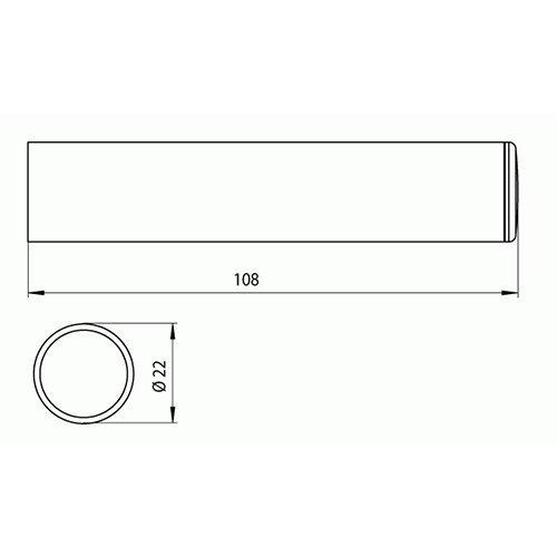 emco Reserve-Papierhalter Polo chrom